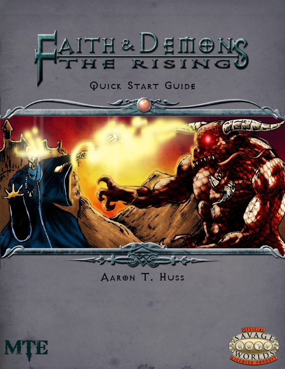 Faith & Demons: The Rising Quick Start Guide is Now Available